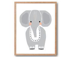 Baby Rabbit Art Print Baby Animal Prints Animal by dekanimal