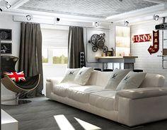 "Check out new work on my @Behance portfolio: ""Дизайн интерьера подвала в стиле лофт"" http://be.net/gallery/42404821/dizajn-interera-podvala-v-stile-loft"
