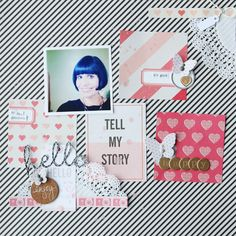 Tell my story by Lilith E. at @studio_calico