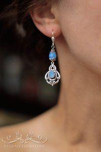 #jewelry #Swarovski #earrings #jewelry_for_women #Evgeniya_Gorelova