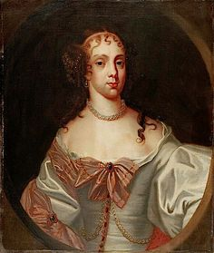 Catherine of Bragança, Queen Consort of King Charles II by studio of Peter Lely (Government Art Collection) Uk History, Fashion History, French History, Tudor History, Adele, Stuart Dynasty, Catherine Of Braganza, House Of Stuart, Hair Starting