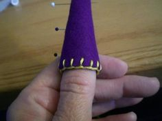Felt Gnome Tutorial | Wee Folk Art. This site has a free pattern to make a gnome hat for a wooden peg doll.