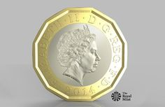 #Budget2014 announces the government will introduce a new and highly secure £1 coin. The proposed new coin is bi-metallic with 12 sides, and adopts new Royal Mint technology to protect against counterfeiting.