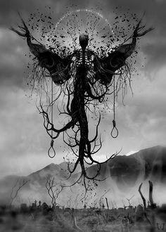 Death Bringer by Dan Verkys © Website / FB / deviantART / Tumblr (Please leave links & credit … Ƹ̴Ӂ̴Ʒ)