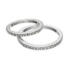 LC Lauren Conrad Textured Midi Ring Set