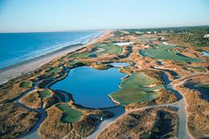 The Ocean Course at Kiawah Island Golf Club boasts unobstructed views of Kiawah's beautiful Atlantic coastline from every hole. >> http://www.frontdoor.com/city-guide/charleston-sc-usa/charleston-attractions-and-highlights/56456?soc=dhpp