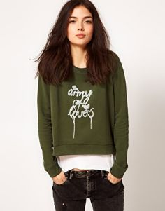 A Question Of Army Of Lovers Organic Cotton Sweatshirt