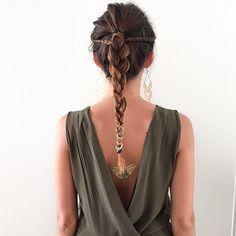 The instagramer Lily Loves Fashion with our Lakshmi set, available on www.sioou.com #gold #temporary #tattoo #blogger #mandala #sioou #tatouage #éphémère #doré