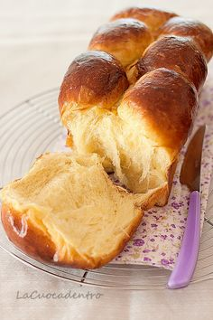 Brioche Parisiennes - Dough is fantastic with an amazing texture and a very soft crumb - (in Italian, use translate button on right side of blog) La Cuoca Dentro