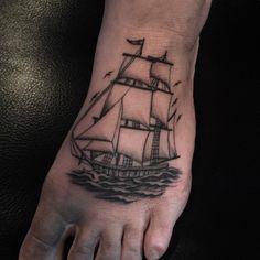 Homeward bound @allied_tattoo
