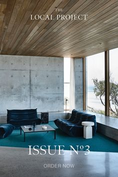 Issue 03 of The Local Project features over 350 pages of articles, interviews and photography. From Sydney Harbour to the shores of Waiheke Island, Issue 03 includes new work from Chenchow Little, Cheshire Architects, Workroom, Auhaus Architecture, WOWOWA, Herbst and more, as well as profiles of Simon James, Georgina Jeffries, Cameron Foggo and many other Australian and Kiwi designers. Modern House Design, Modern Interior Design, Contemporary Architecture, Interior Architecture, Futuristic Architecture, Web Design, Home Room Design, Layout, Office Interiors