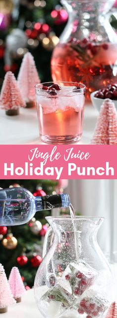 alcoholic party drinks This Jingle Juice Holiday Punch formula is basic, delightful, and lovely! You just need three fixings to make this delectable occasion punch formula Christmas Party Drinks, Christmas Drinks Alcohol, Party Drinks Alcohol, Christmas Punch, Drinks Alcohol Recipes, Holiday Drinks, Punch Recipes, Cocktail Drinks, Fun Drinks