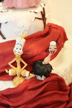 Lumiere and Spolverina, cake design