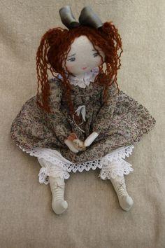 Jeannette..quelle bêtise prépare t'elle..? (33cm) - Le Jardin des Farfalous ♡ lovely doll