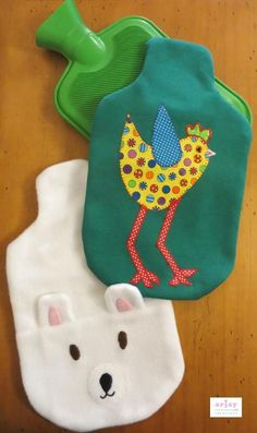 PAID PATTERN: Hot Water Bottle Covers AU$5.54. Cute idea for your little one if they are in need of extra warmth.
