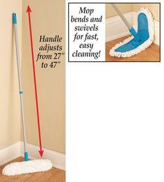 Microfiber Mop with Adjustable Handle