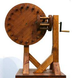Machines - Interactive Models @ Leonardo da Vinci Inventions - Mostra Leonardo da Vinci