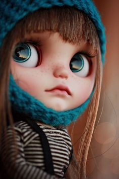 Rita custom Blythe doll by Vainilladolly