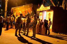 Minor Clash over Temple Activity in Nand Nagari