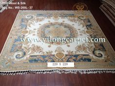 The real handmade silk rug is more beautiful than the picture. www.yilongcarpet.com alice@yilongcarpet.com whatsapp:8615638927921