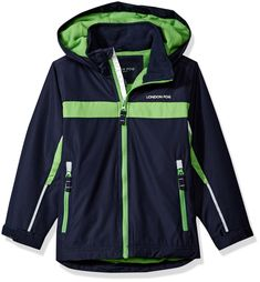 London Fog Baby Boys' Toddler Hooded Midweight Jacket Colorblocked, Navy/Green, >>> Extra info could be located at the picture url. (This is an affiliate link). Baby Girl Jackets, Photo Link, Navy And Green, Adidas Jacket, Fashion Brands, Hoods, Topshop, London, Baby Boys