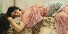 When the Heart is Young ~ John William Godward ~ (1861-1922)