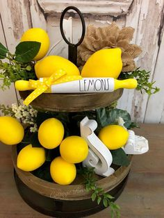 A great keep reading more regarding Kitchen Redesign Tips - Modern Farmhouse Rolling Pins, Kitchen Table Makeover, Lemon Kitchen, Farmhouse Kitchen Decor, Farmhouse Style, Kitchen Cupboards, Tray Decor, Cool Kitchens, Kitchen Remodel