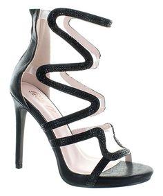Black Paris Sandal
