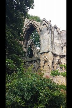 St. Mary's Abbey by Bill Hodge