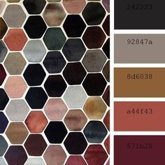Personal Palette: I love the richness of those colors put together, but also the way they bring simplicity and calming vibes. Colour Pallete, Colour Schemes, Color Combos, Color Palettes, Modern Color Palette, Decorating Color Schemes, Modern Color Schemes, Fall Color Palette, Decorating Tips