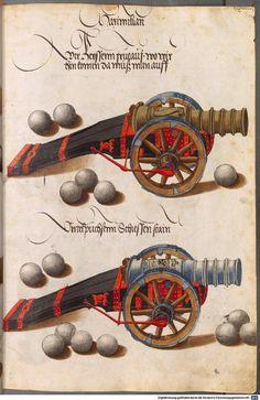 Zeugbuch Kaiser Maximilians I Innsbruck, um 1502 Cod.icon. 222  Folio 44r