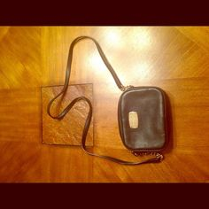 Michael Kors Crossbody Bag Small black crossbody bag with gold hardware Michael Kors Bags Crossbody Bags