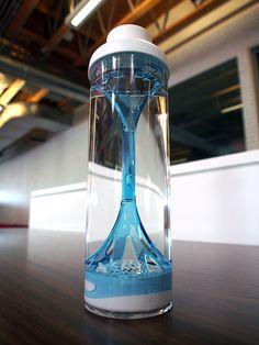 Stylish filtering water bottle unlike any other. #water #waterbottle #YankoDesign