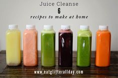 The juice cleanse that will help you lose weight and get rid of toxins! - The juice cleanse that will help you lose weight and get rid of toxins! Perfect to reset yo - At Home Juice Cleanse, Homemade Juice Cleanse, Juice Cleanse Recipes, Detox Juice Cleanse, Juice Cleanses, Smoothie Detox, Detox Recipes, Detox Juices, Juicer Recipes