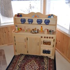 The All New for 2015 Grammie's Kitchen Deluxe. The play kitchens with a Lifetime Guarantee from Elves and Angels!