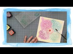 VIDEO introducing the Cosmo Cricket Just Add Watercolor line on sale at Card Tutorials, Art Forms, Cosmos, Cricket, Projects To Try, Just For You, Ads, Watercolors, Frame