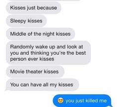 -relationship goals.