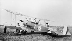 A Sopwith 1 1/2 Strutter two seater in use for training, 1917.  It was being phased out of front line service by this time.