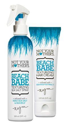 Best of Summer Beauty: Not Your Mother's Beach Babe Sea-Salt Spray