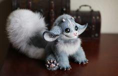 My Little Dragon: Grey one by Santani.deviantart.com on @DeviantArt
