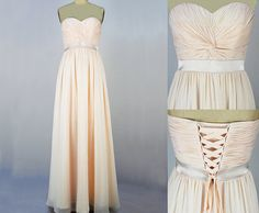 Strapless Long Bridesmaid Dresses Prom Dresses from dressbridals by DaWanda.com