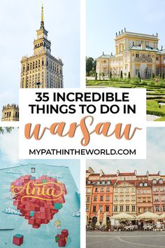 Traveling to the city of Warsaw, Poland? Wondering what to do in Warsaw? Here are the best things to do in Warsaw including must see beautiful places, what to eat and other travel tips. Europe Travel Guide, Europe Destinations, Travel Guides, Travel Abroad, Travel Advice, Usa Travel, Travel City, Nightlife Travel, Paris Travel