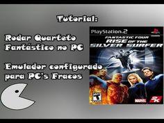 Como Baixar e emular Quarteto Fantástico Jogo PS2 - Tutorial (PC's Fracos)