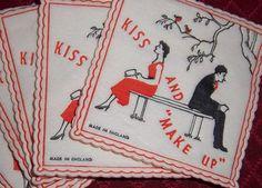 Kiss and Make up Lipstick Pads 40s/50s