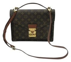 Louis Vuitton Monceau Shoulder Bag. Get one of the hottest styles of the season! The Louis Vuitton Monceau Shoulder Bag is a top 10 member favorite on Tradesy. Save on yours before they're sold out!