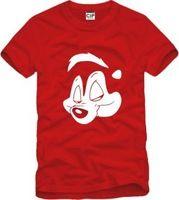 2014 Summer New Men's Skunk T-shirts Short Sleeve Hiphop Skateboard Angel Skunk T shirts