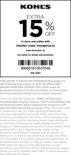 4b44d991bf6f70 Kohls coupon   Kohls promo code from The Coupons App. off at Kohls