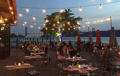 Eat, Drink & Be Merry: 7 Wonderful Waterside Spots to Eat Like a Pig & Drink Like a Fish in NYC