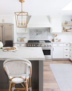 Love the appliances in this kitchen! She talks about all of her favorite appliance features in this post! Kitchen Reno, New Kitchen, Kitchen Remodel, Kitchen Dining, Kitchen Appliances, Dining Room, Kitchen Ideas, Kitchen Tile, Driven By Decor