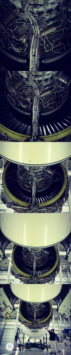 A day in the life of a jet engine.